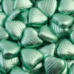 Hydrangea Foil Hearts
