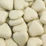 Ivory Foil Heart